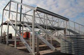 Brug constructie Airport Eindhoven