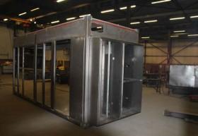 Container in aanbouw